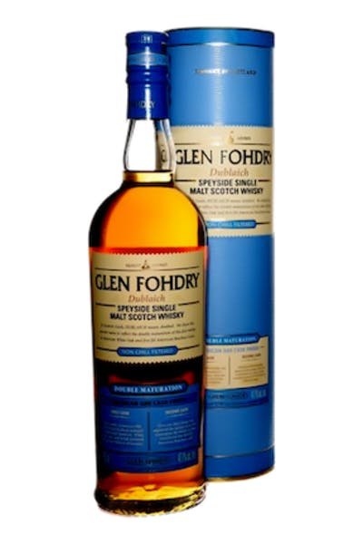 Glen Fohdry Double Cask Single Malt Scotch