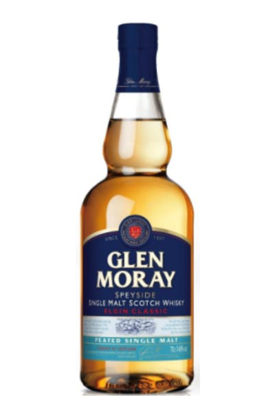 Glen Moray Peated Single Malt Classic Scotch