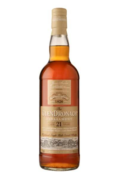 The GlenDronach Single Malt Scotch Whisky Parliament Aged 21 Years