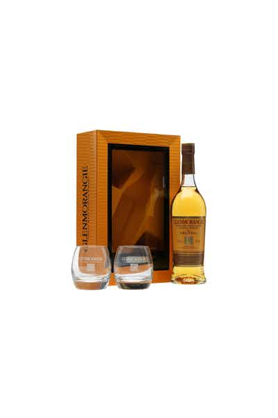 Glenmorangie The Original 10 Year Highland Single Malt Scotch (Gift Set With Two Glasses)