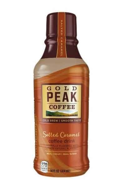 Gold Peak Salted Caramel Coffee