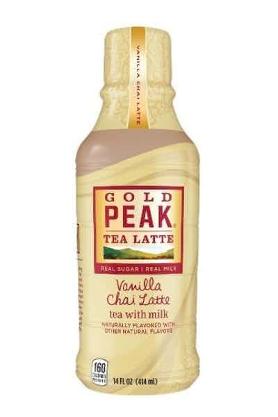 Gold Peak Vanilla Chai Latte With Milk