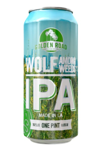 Golden Road Wolf Among The Weeds