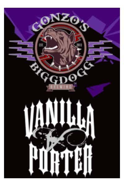 Gonzo's Biggdogg Vanilla Porter