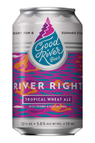 Good River River Right Tropical Wheat Ale