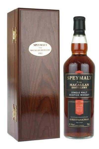 Gordon & Macphail Speymalt from Macallan Distillery 1945