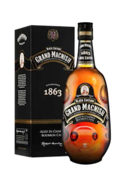 Grand Macnish Black Edition Blended Scotch Whiskey