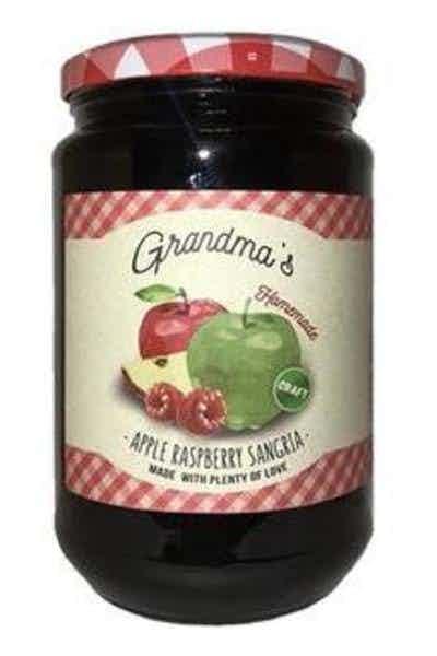 Grandma's Homemade Apple Raspberry Sangria