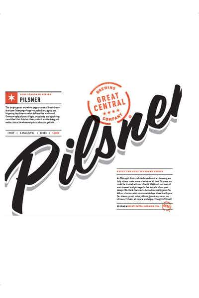 Great Central Brewing Pilsner