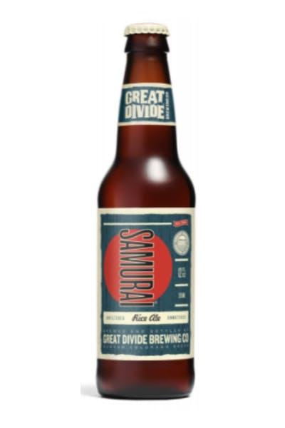 Great Divide Samurai Ale