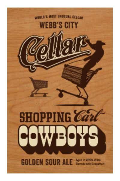 Green Bench Shopping Cart Cowboys
