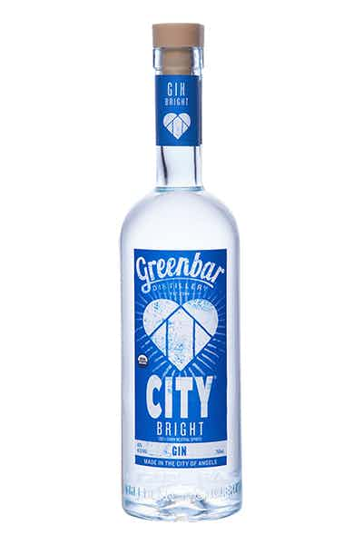 CITY Bright Gin from Greenbar Distillery