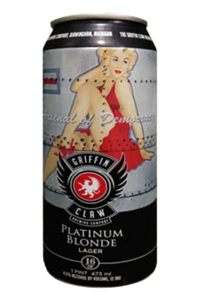 Griffin Claw Platinum Blonde Lager