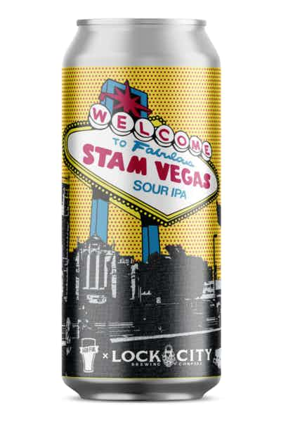 Half Full Welcome to Fabulous Stam Vegas Sour IPA