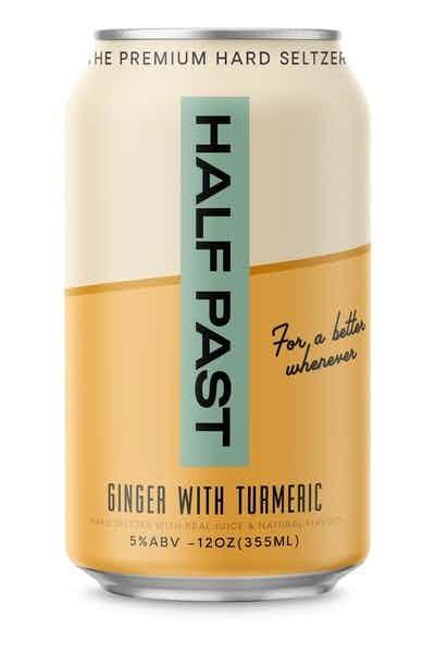 Half Past Ginger with Turmeric Premium Hard Seltzer