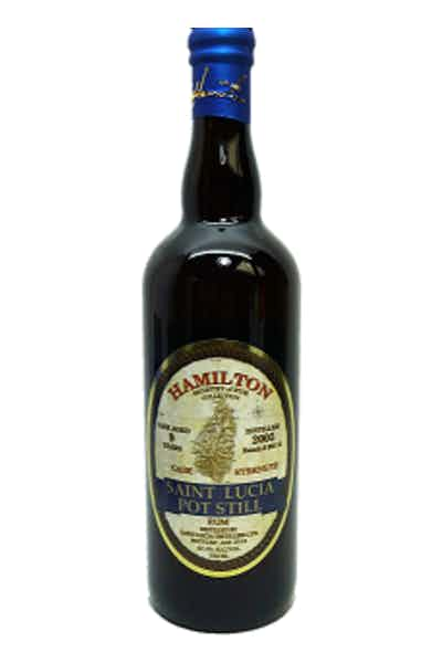 Hamilton St. Lucia Rum 9 Year