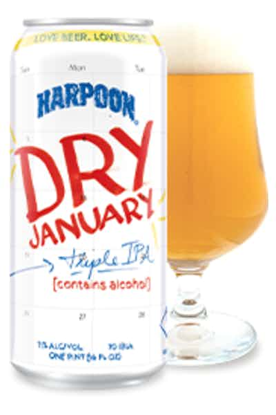 Harpoon Dry January Triple Ipa