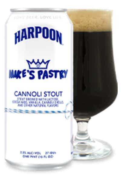 Harpoon Mike's Pastry Cannoli Stout
