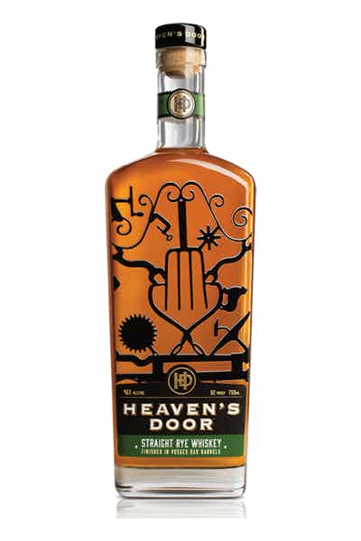 Heavens Door Straight Rye Whiskey