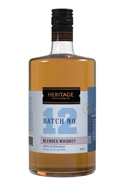 Heritage Distilling Co. Batch No. 12 Whiskey