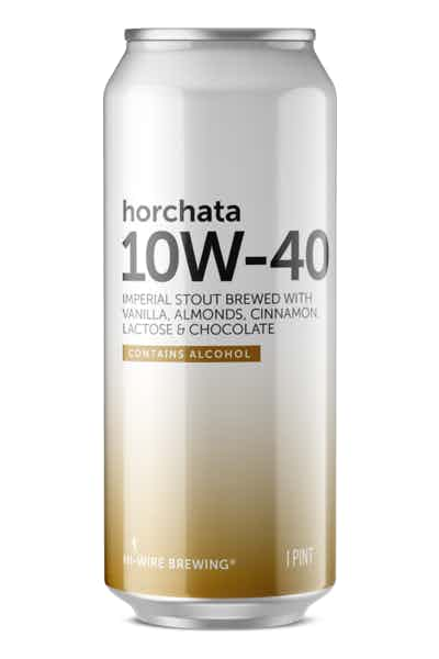 Hi-Wire 10W-40 Horchata Imperial Stout