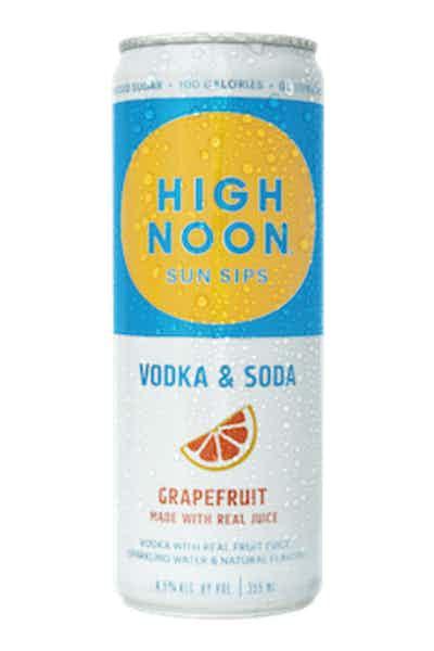 High Noon Grapefruit Hard Seltzer