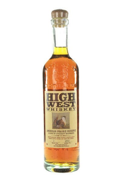 High West Bourbon Whiskey