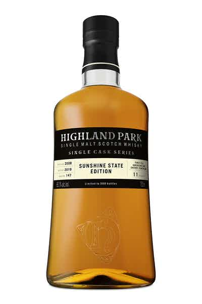 Highland Park Single Cask Series Sunshine State Edition