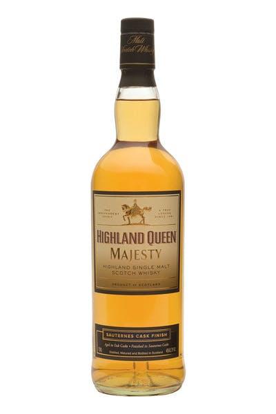 Highland Queen Majesty Sauternes Finish Single Malt