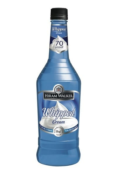 Hiram Walker Whipped Cream