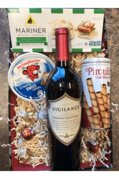 Holiday Red Gift Basket