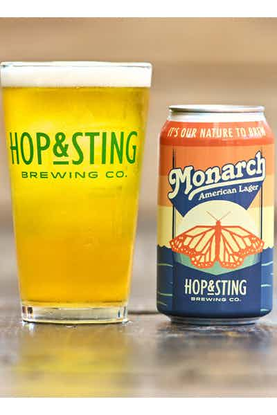 Hop & Sting Monarch American Lager