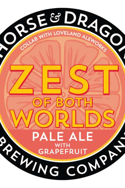Horse & Dragon Zest of Both Worlds Pale Ale with Grapefruit (Collab w/Loveland Aleworks)