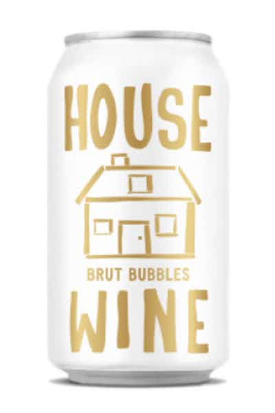 House Wine Brut Bubbles Can