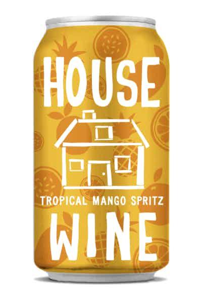 House Wine Tropical Mango Spritz Can