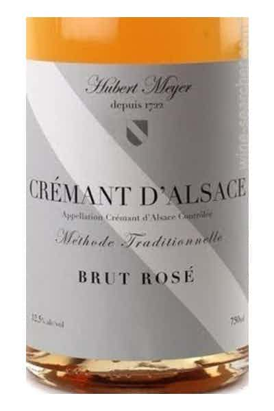 Hubert Meyer Cremant d'Alsace Brut Rose
