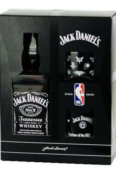 Jack Daniel's Black NBA Gift Set