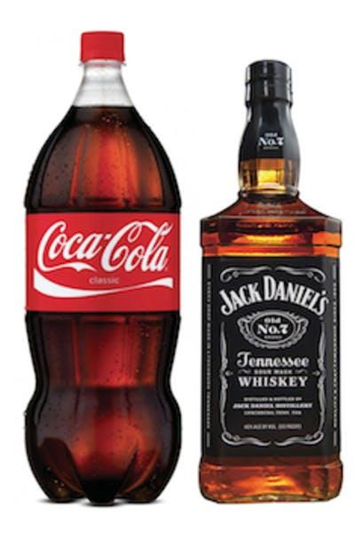 Jack Daniel's Black With Coke