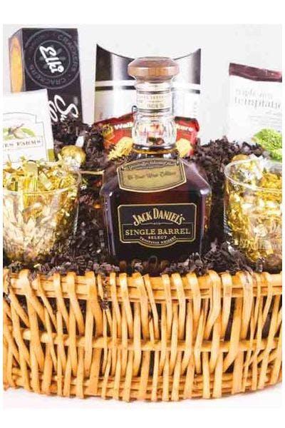 Jack Daniels Single Barrel Gift Basket