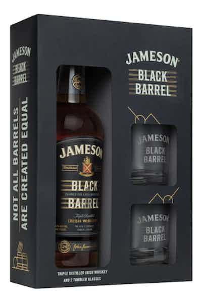 Jameson Black Barrel Glasses Gift Set