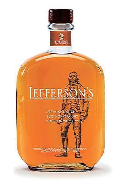 Jeffersons Kentucky Straight Bourbon Whiskey