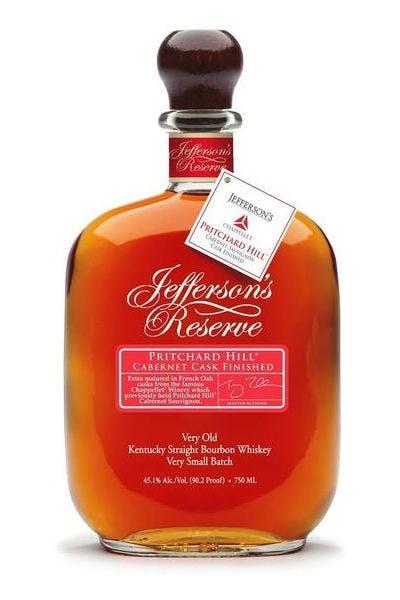 Jefferson's Reserve Bourbon Pritchard Hill Cabernet Cask Finished