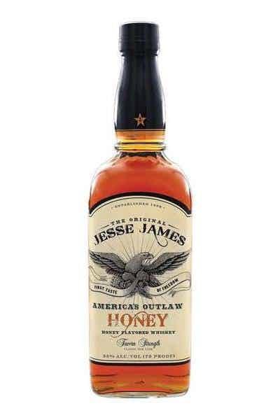 Jesse James America`s Outlaw Honey Bourbon