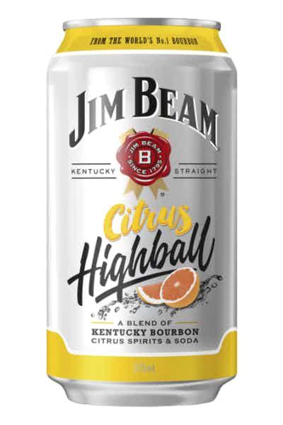 Jim Beam Citrus Highball .