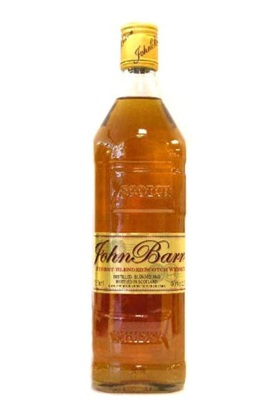 John Barr Gold Scotch
