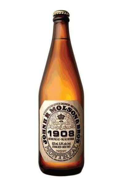 John HR Molson and Bros 1908 Pale Ale