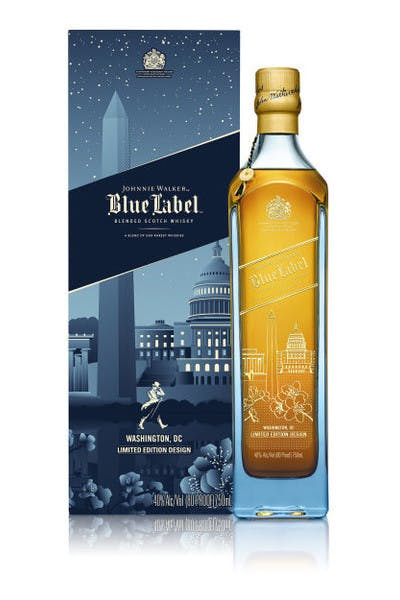 Johnnie Walker Blue Label Washington DC Edition