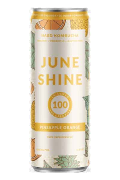 Juneshine Hard Kombucha Pineapple Orange
