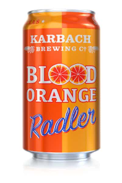 Karbach Brewing Co. Blood Orange Radler