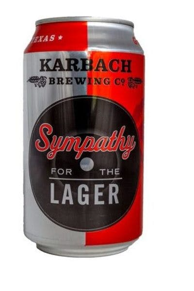 Karbach Sympathy for the Lager